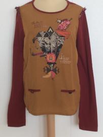 Scotch Rbelle shirt voor meisjes van 14 met maat 164