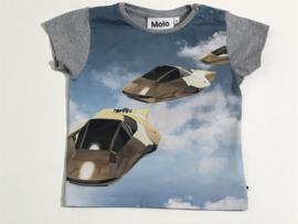 Molo t-shirt voor jongen van 2 jaar met maat 92
