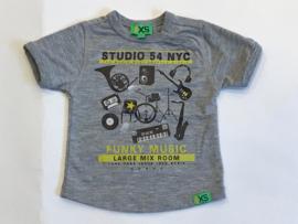 Funky XS t-shirt voor jongen van 3 / 6 maanden met maat 62 / 68