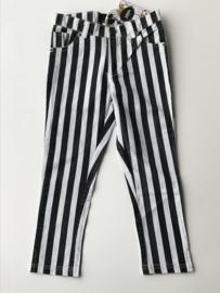 Little Miss Juliette streepjes broek voor meisje van 7 jaar met maat 122