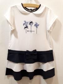 Armani baby jurk voor meisje van 18 maanden met maat 86