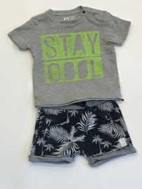 Tumble n dry t-shirt voor jongen van 3 maanden met maat 62