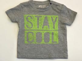 Tumble n dry t-shirt voor jongen van 1 maand met maat 56