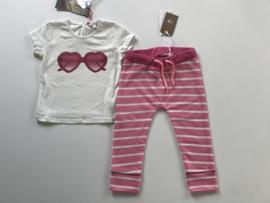Bampidano broekje voor meisje van 9 / 12 maanden met maat 80