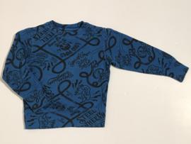 Petrol trui voor jongen van 4 jaar met maat 104