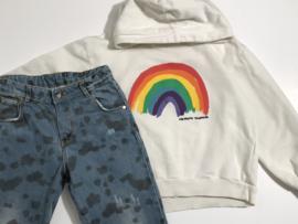 Daily Brat jeans spijkerbroek voor meisje van 7 / 8 jaar met maat 122 / 128
