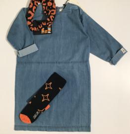 Popupshop jurk voor meisje van 8 / 9 jaar met maat 128 / 134