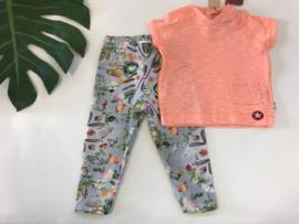 Molo legging voor meisje van 12 maanden met maat 80