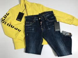 Dsquared2 spijkerbroek voor jongen van 8 jaar met maat 128