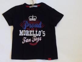 Frankie Morello t-shirt voor jongen van 18 / 24 maanden met maat 86 / 92