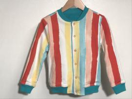 Ammehoela badstof vest voor meisje of jongen van 18 - 24 maanden met maat 86 /92