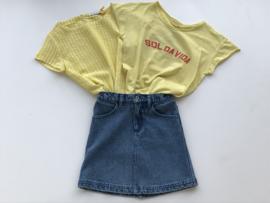Piupiuchick t-shirt voor meisje van 6 maanden met maat 68