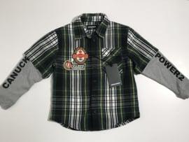 Dsquared2 zacht overhemd voor jongen van 12 jaar met maat 152