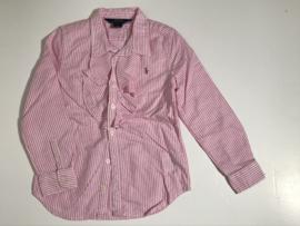Polo Ralph Lauren blouse voor meisje van 6 jaar met maat 116