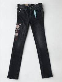 Indian Blue Jeans spijkerbroek met bloemenprint voor meisje van 9 jaar met maat 134