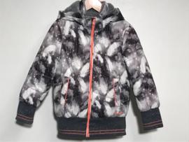 Nono winterjas voor meisje van 4 jaar met maat 104