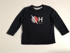 IKKS longsleeve en t-shirt reversibel voor jongen van 18 maanden met maat 86