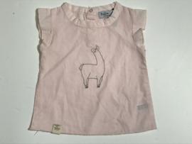 Riffle Amsterdam t-shirt voor meisje van 1 maand met maat 50