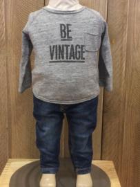 Grant spijkerbroekje voor jongen of meisje van 3 - 6 maanden met maat 62 / 68