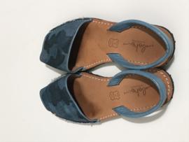 Boho leren sandalen voor meisje met schoenmaat 38