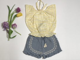 Tocoto Vintage top met blote rug voor meisje van 2 jaar met maat 92