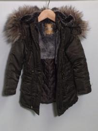 Retour winterjas voor meisje van 4 jaar met maat 104