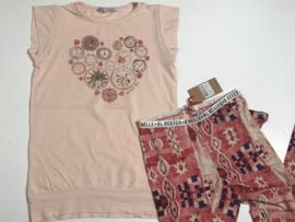 Patrizia Pepe t-shirt / tuniek voor meisje van 10 jaar met maat 140