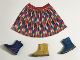 Pinocchio laarsjes met spekzolen voor meisje met schoenmaat 22