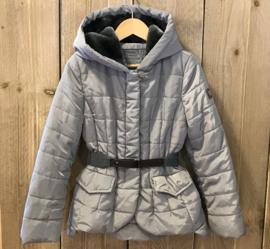 Monnalisa winterjas voor meisje van 8 jaar met maat 128