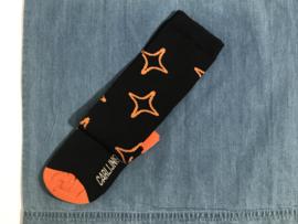 CarlijnQ Knee sokken voor meisje van 8 / 10 jaar met maat 128 / 140