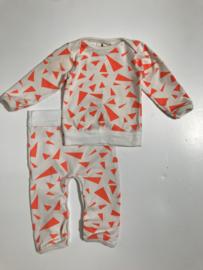 Noe & Zoe combi top en broek voor jongen of meisje van 0 / 3 maanden met maat 50 / 62