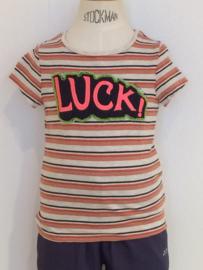 Scotch Rbelle t-shirt voor meisje van 4 jaar met maat 104