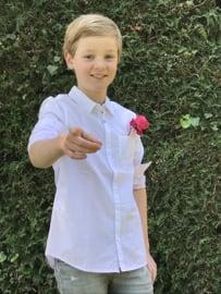 IKKS overhemd voor jongen van 10 jaar met maat 140