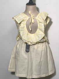 Tocoto Vintage top met blote rug voor meisje van 4 jaar met maat 104