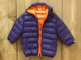 Imps & Elfs lichtgewicht donzen jas voor jongen van 18 maanden met maat 86