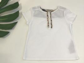 Burberry t-shirt voor meisje van 18 / 24 maanden met 86
