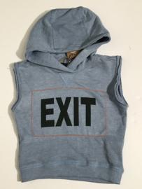 Like Flo mouwloze hoodie top voor meisje van 9 / 10 jaar met maat 134 / 140