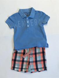 Bikkembergs polo shirt voor jongen van 6 maanden met maat 68