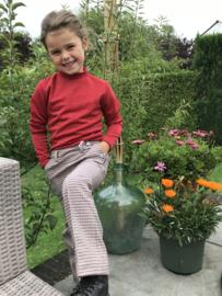 Nik en Nik broek met wijde pijpen voor meisje van 6 jaar met maat 116