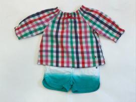 Noppies korte broek voor meisje van 9 maanden met maat 74