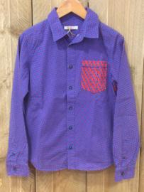 Van Hassels overhemd retro voor jongen van 10 jaar met maat 140