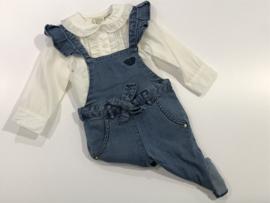 Jottum blouse voor meisje van 6 / 9 maanden met maat 68