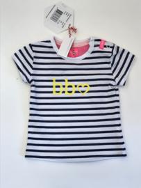 Beebielove t-shirt voor meisje van 6 maanden met maat 68