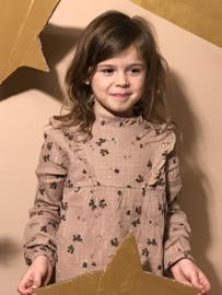 Buho blouse voor meisje van 3 jaar met maat 98