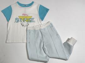 Bandy Button t-shirt voor meisje van 12 / 18 maanden met maat 80 / 86