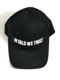 In Gold We Trust pet unisex voor jongen of meisje groot