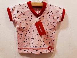 Kik Kid t-shirt voor meisje van 6 maanden met maat 68