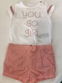 Tumble n Dry t-shirt voor meisje van 6 maanden met maat 68
