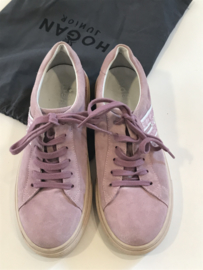 Hogan sneakers met steentjes voor meisje met schoenmaat 35