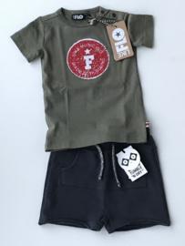 Like Flo wrijf t-shirt voor jongen van 6 maanden met maat 68